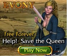 Old Evony Advert